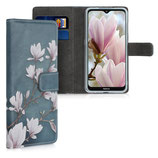 Wallet Case Hülle Nokia 6.2 Magnolien