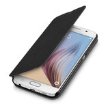 Flip Cover Samsung Galaxy S6 Schwarz