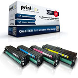 4x Toner HP 307A CE-740-CE743 Laserjet