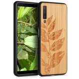 Holz Case Samsung Galaxy A7 2018 Bambus
