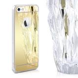 Spiegel Hülle iPhone SE / 5 / 5S Gold