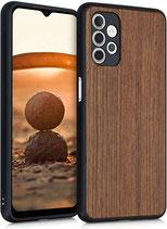Walnussholz Case Samsung Galaxy A32