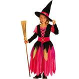 Boland 86950 - Kinder-Kostüm Pretty Witch, Größe 104-116
