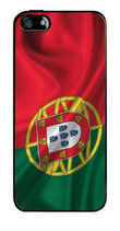 PORTUGAL CASE FÜR APPLE IPHONE 5 FLAGGE SCHUTZ HÜLLE
