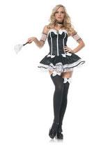 Leg Avenue - 5-teilig - Chambermaid Kostüm - 83441