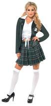 Schulmädchenkostüm Kostüm für Damen