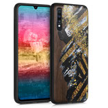 Walnussholz Case Samsung Galaxy A70 Farbbrush