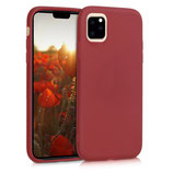 TPU Case Hülle Apple iPhone 11 Rot