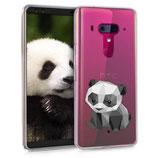 TPU Silikon Case Hülle HTC U12+ Panda