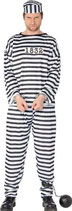 Kostüm Gefangener Sträflingskostüm