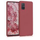 TPU Case Samsung Galaxy A71 Kastanienrot