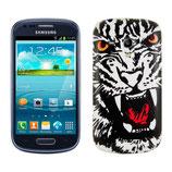 Akku Deckel Samsung Galaxy S3 Mini Tiger