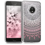TPU Case Motorola Moto G5 Plus Sonne Rosa