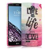 TPU Silikon Case Cover Live the LG G4
