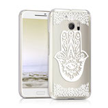 Crystal Case Hülle HTC 10 Hamsa Design