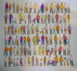 500 Stehende Figuren Spur H0 1:87