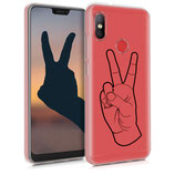 TPU Case Xiaomi Redmi 6 Pro/Mi A2 Handzeichen