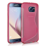 TPU Case Samsung Galaxy S6 Edge Pink