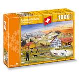 CARTA.MEDIA 7263 Puzzle Appenzellerland Isch Früehligsziit