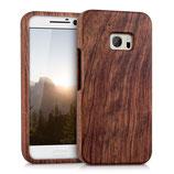 Holz Hülle HTC 10 Case Rosenholz
