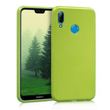 TPU Case Hülle Huawei P20 Lite Grün