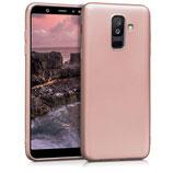 TPU Case Samsung Galaxy A6+ 2018 Rosegold
