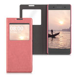 Flip Case Sony Xperia XA Altrosa Fenster