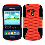 Silikon Case Samsung Galaxy S3 Mini Orange