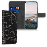 Wallet Case Hülle Huawei Nova 5T Mathe Physik