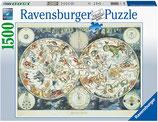 Ravensburger 16003 Weltkarte Tierwesen