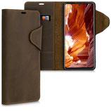 Wallet Case Samsung Galaxy A71 Echtleder Braun
