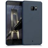 TPU Case Hülle HTC U Ultra Blau matt