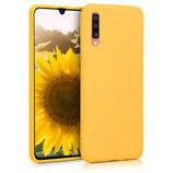 TPU Case Hülle Samsung Galaxy A70 Honiggelb