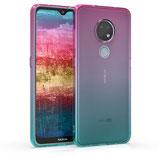 TPU Case Hülle Nokia 6.2 Zwei Farben