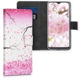 Wallet Case Samsung Galaxy A20e Kirschblüten