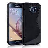 TPU Case Samsung Galaxy S6 Schwarz