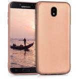 TPU Case Samsung Galaxy J7 2017 Rosegold