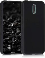 TPU Case Hülle Cover Nokia 2.3 Schwarz