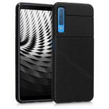 TPU Case Samsung Galaxy A7 (2018) Schwarz