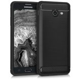 TPU Case Samsung Galaxy J5 2017 Brushed Carbon Anthrazit