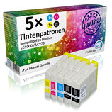 5x Tintenpatronen Brother LC1000 LC970
