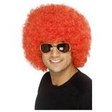 Perücke Lockenkopf Rot Afro