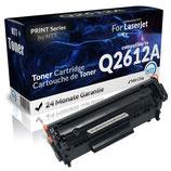 Toner Schwarz HP 12A Q2612A für Laserjet