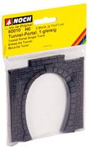 Noch 60010 Tunnel-Portal 1-gleisig H0