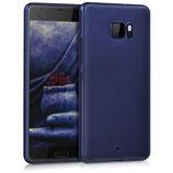 TPU Case Hülle HTC U Ultra Hochglanz Blau