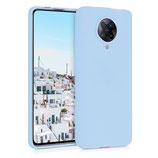 Hülle Case Xiaomi Poco F2 Pro Hellblau