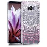 Crystal Case Samsung Galaxy S8 Sonne Rosa