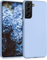 TPU Case Samsung Galaxy S21 Hellblau