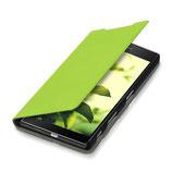 Flip Case Sony Xperia Z5 Premium Grün