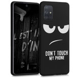 TPU Case Hülle Samsung Galaxy A71 Dont Touch